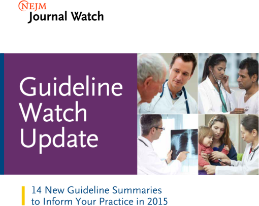 nejm guideline watch
